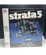 1984 STRATA 5 BOARDGAME MB Milton Bradley board game nib sealed build cl... - $37.62
