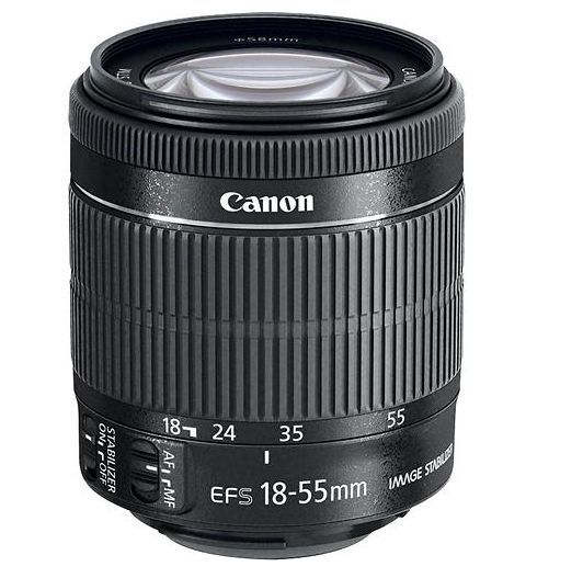 Canon EF-S 18-55mm F/3.5-5.6 IS STM Lens SLR DSLR zoom Lens NEW Worldwide ship