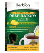 Herbion Naturals Respiratory Care Granules Lemon Flavour 10 sachets - $9.99