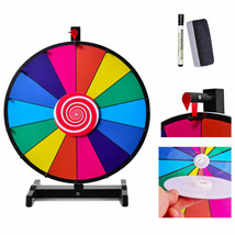 "24"" Editable 14 Slot Fortune Spinning Game Tabletop - $73.57"