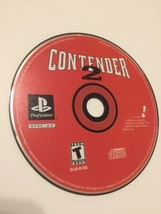 Contender 2 PlayStation 1 PS1 Get Into the Ring and Knock Out the Compet... - $4.95