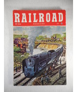 Vintage Railroad Magazine July 1948 Train on Cover - $14.80