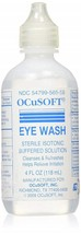 Ocusoft Eye Wash Sterile Isotonic Buffered Solution Relieve Irrigating C... - $18.67