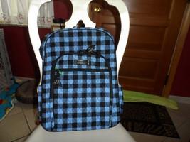 Vera Bradley Campus backpack  in Alpine Check NWT - $65.00