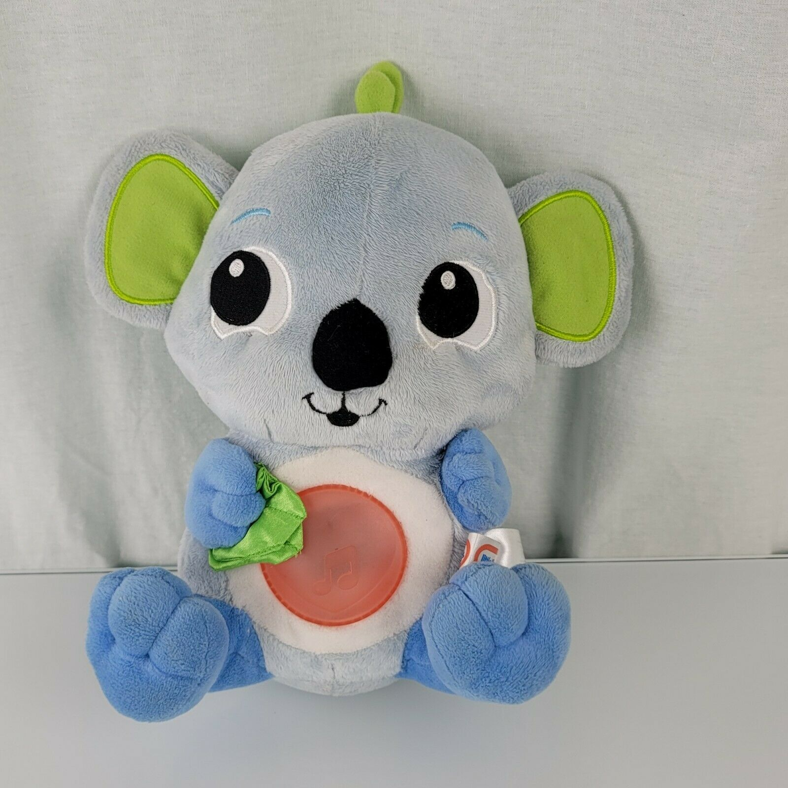 Primary image for Little Tikes Baby Soothe Me Koala Bear Blue Plush Musical Glow Lullaby Toy