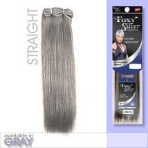 FOXY SALON WEAVE - STRAIGHT12 Foxy Silver - Human Hair Weave in 51