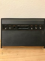 Vintage Atari CX-2600 Console Parts Only Not Working Powers Up Loads Sometimes - $58.00