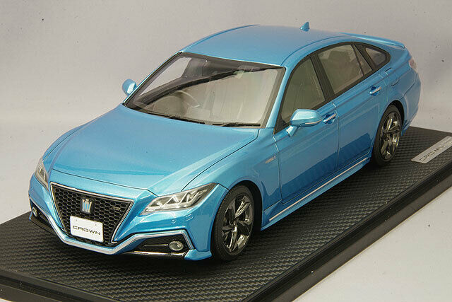 ignition model IG1683 1/18 Toyota Crown 220 3.5L RS Advance Light Blue Metallic - $408.86