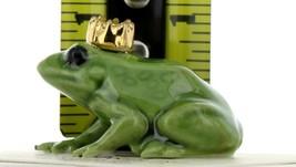 Hagen Renaker Miniature Frog Prince Small Ceramic Figurine image 2