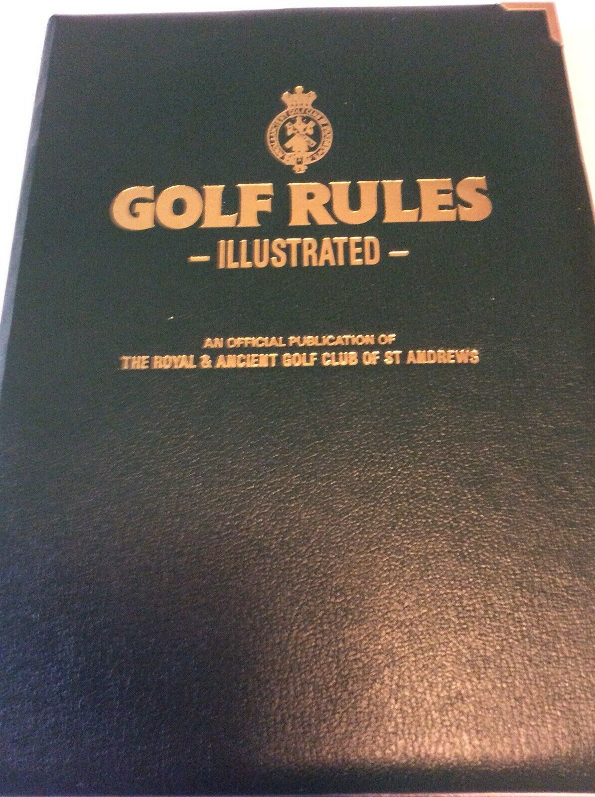 Primary image for GOLF RULES ILLUSTRATED 7th edition 1992 ROYAL & ANCIENT GOLF CLUB OF ST. ANDREWS