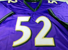 RAY LEWIS / HALL OF FAME / AUTOGRAPHED BALTIMORE RAVENS CUSTOM JERSEY / STEINER image 2
