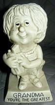 "W&R Berries 1973 ""GRANDMA YOU'RE THE GREATEST"" figurine 6"" x 3 1/2"" - $16.58"