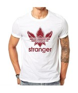 Upside Down Shirt Stranger Things Tshirt Hawkins Middle Adidas Red Clove... - $17.51