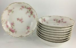 Haviland Limoges (BRHav120) Set of (9) Nine fruit / dessert bowls - $85.00