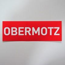 Obermotz - Sticker/Aufkleber, red - $0.65