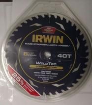 "IRWIN 1934344 8-1/4"" x 40 Carbide Tooth Circular Saw Blade WeldTec Italy - $13.86"
