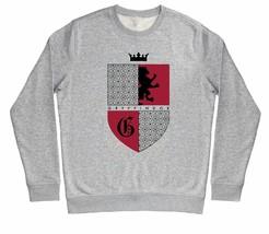 Harry Potter Gryffindor Red & Black Crest Children's Unisex Grey Sweatshirt - $25.35