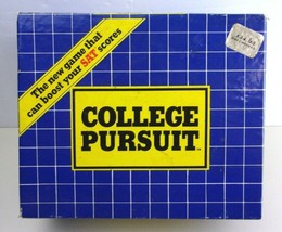 COLLEGE PURSUIT Game - 1985 - Boost Your SAT Scores  - $15.72