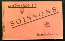 France - SOISSONS La Guerre 1914-18 - Showing War Damage -19 of 20 cards... - $19.00