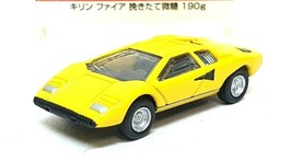 1/100 Kyosho LAMBORGHINI COUNTACH LP400 YELLOW diecast car model  - $8.81