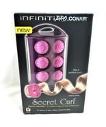 Conair Infiniti Pro Secret Curl Pop Up Rollers HS63 Clipless 12 Rollers ... - $19.88