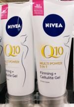 Nivea multi power q10 5 in 1 firming+ cellulite gel reduces cellulite 2 ... - $44.56