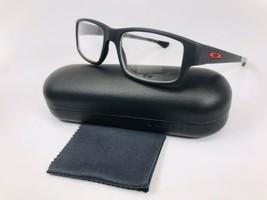d03a060af06a New Oakley OX8104-0252 Satin Black Ink TRAILDROP Eyeglasses 52mm w/Oakle.