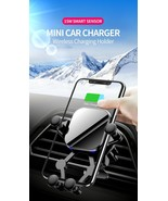 Techno S Fast Qi Wireless Gravity Linkage Air Vent Car Phone Charger - $24.50