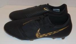 Nike Phantom Venom Academy FG Mens 13 Soccer Cleats Black Gold A00566-077 New - $47.51