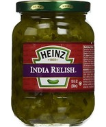 Heinz India Relish 10oz Glass Jar Pack of 3 - $14.23