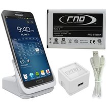 RND Dock + 3200mAh NFC Standard Battery for Samsung Galaxy Note 3 with D... - $32.99