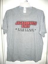 Gildan Activewear Gray T-Shirt Jacksonville State Basketball Team Champs XL - $19.59