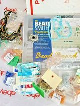 JEWELRY MAKING DIY BEAD BOARD, BEADS & BEADING MATERIAL See Photos (Bx12) image 4