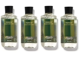 Bath & Body Works Forest For Men 3 in 1 Hair & Body Wash 10 oz - x4 - $37.99