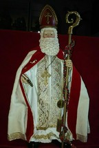 LE Clothtique Possible Dreams Signature 1996 Santa St. Nicholas Myra Cir... - $99.99