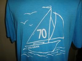 USS Gran crew blue t shirt size L - $19.75