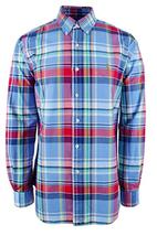 Polo Ralph Lauren Men's Plaid Oxford Shirt ,Red\Blue, Size XS, MSRP $89.5 - $49.49
