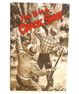 How Be Crack Shot Remington advertising booklet vintage 1904 rifle hunting - $16.00