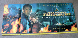 "NATIONAL TREASURES: BOOK OF SECRETS 2007 (26"" X 50"")  MAIN POSTER(side 1... - $29.99"