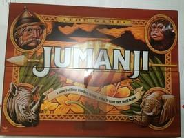 Cardinal Jumanji Board Game wood box, complete see photos - $39.50