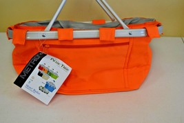 Picnic Time Metro Basket Insulated Tote #645-00-103 Orange New - €17,51 EUR