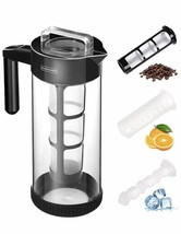 Cold Brew Coffee Maker Drink Infuser By Nunwares New - $19.62