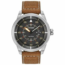 Citizen Men's AW1361-10H Sport Analog Display Japanese Quartz Brown Watch  - $145.61