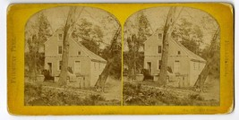 Philadelphia Fairmount Park Old House   Stereoview Photo Card   - $12.95