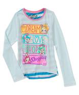 Shopkins Girls Long Sleeve T-Shirt Dream Love Shop Size XSmall 4-5 NWT - $10.90
