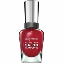 Sally Hansen Complete Salon Manicure Nail Polish .5 Fl Oz Red-Handed 575 - $3.95