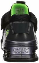 Skechers Kids Boys' MEGA-Volt Sneaker, Black/Purple, 12.5 Medium US Little Kid image 2