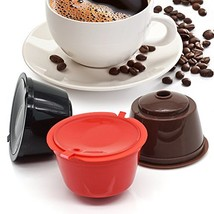 i Cafilas Dolce Gusto Refillable Capsules Reusable Coffee Pods Compatibl... - $9.86