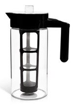 Glass Cold Brew Pot Iced Coffee Tea Maker 1 Quart 1L with Fruit Infusion... - $21.52