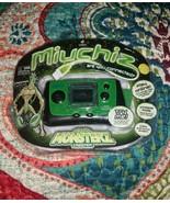 New Miuchiz Monsterz Creeper Green Handheld Game MGA Wireless Play Online - $9.89